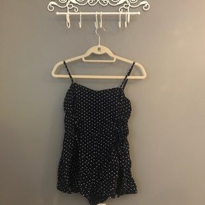 Polka dot romper from urban outfitters
